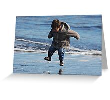 """Jump for Joy !"" Greeting Card"