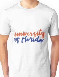 university of florida Unisex T-Shirt