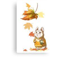 Autumn Hamster Canvas Print