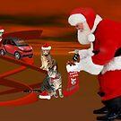 <º))))>< CATS MEET SANTA <º))))><  by ✿✿ Bonita ✿✿ ђєℓℓσ