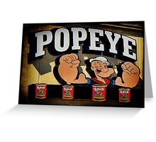 Popeye A Favorite Memory Of Mine Picture Card ect..17 SALES Greeting Card