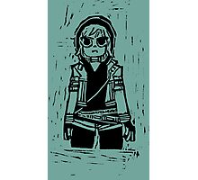 """Romona Flowers ( from """"Scott Pilgrim Vs. The Universe"""" by Bryan Lee O'Malley ) Photographic Print"""