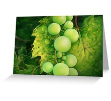 """The Grapes"" Greeting Card"