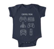 Control Freak Video Game Controller T Shirt One Piece - Short Sleeve