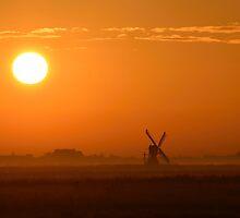 Texel Sunrise by Kasia Nowak