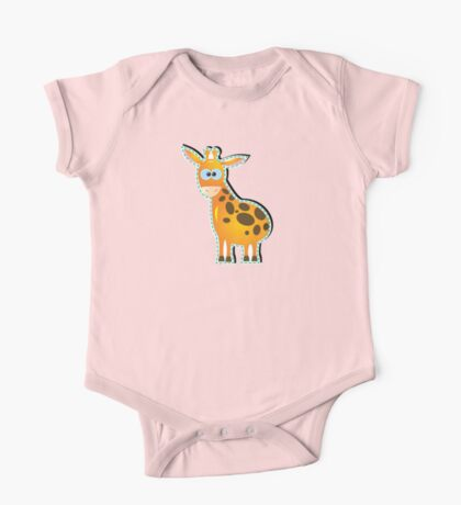 funny giraffe One Piece - Short Sleeve