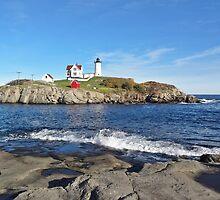 Cape Neddick Lighthouse by Barbny