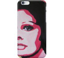 The sad woman iPhone Case/Skin
