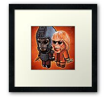 """DAMN Dirty Apes!"" POOTERBELLIES Framed Print"