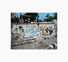 graffiti wall in Cuba Unisex T-Shirt
