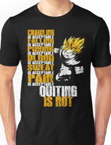 SSJ Goku - Pain is Acceptable Unisex T-Shirt