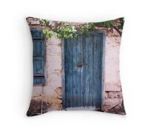 Forsaken House II Throw Pillow