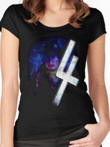 Dr Who The Fourth Doctor T-Shirt Tom Baker Women's Fitted Scoop T-Shirt