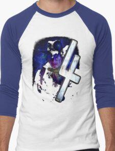 Dr Who The Fourth Doctor T-Shirt Tom Baker Men's Baseball ¾ T-Shirt