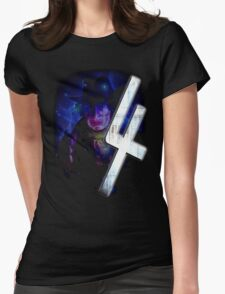 Dr Who The Fourth Doctor T-Shirt Tom Baker Womens Fitted T-Shirt