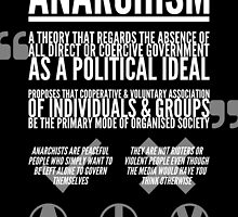 The Truth About Anarchism by anarchei