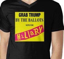 Up For Grabs! Mens V-Neck T-Shirt