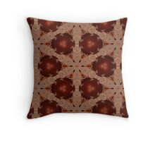 Tripped Out Strawberries Throw Pillow