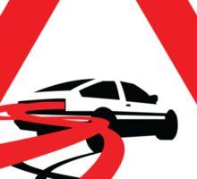 Caution: Inertia Drift Sticker