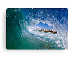 concrete horizon Canvas Print