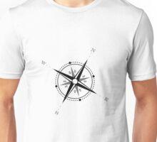 Vintage Compass Rose Explore Adventure Unisex T-Shirt
