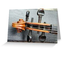 old violin Greeting Card