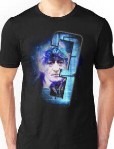Dr Who The Third Doctor Jon Pertwee T-Shirt Unisex T-Shirt