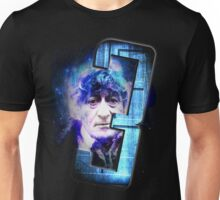 Dr Who The Third Doctor Jon Pertwee T-Shirt Unisex T-Shirt