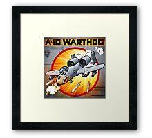 "WINGS Series ""A-10 WARTHOG"" Framed Print"
