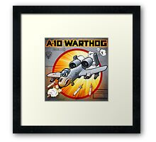 "WINGS Series ""A-10 WARTHOG"" Framed Print"
