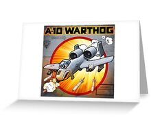 "WINGS Series ""A-10 WARTHOG"" Greeting Card"