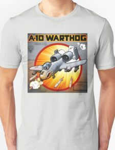 """WINGS Series """"A-10 WARTHOG"""" Unisex T-Shirt"""