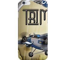 """WINGS Series """"Tri Motor"""" iPhone Case/Skin"""