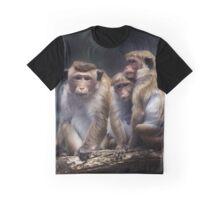 monkey, monkey family Graphic T-Shirt