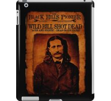 Wild Bill Hickok Deadwood Design iPad Case/Skin