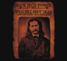 Wild Bill Hickok Deadwood Design by OutlawOutfitter