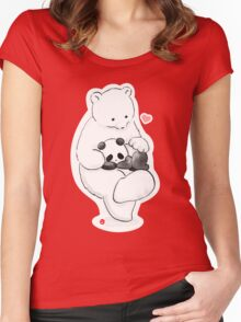 Panda Therapy Women's Fitted Scoop T-Shirt