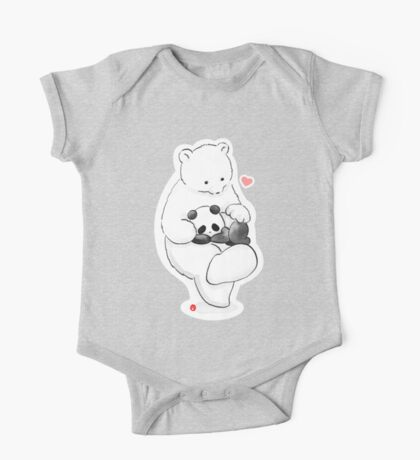 Panda Therapy One Piece - Short Sleeve