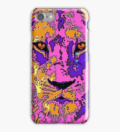 Psychedelic Lioness iPhone Case/Skin