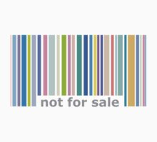 Not For Sale Barcode - Colorful Kids Tee