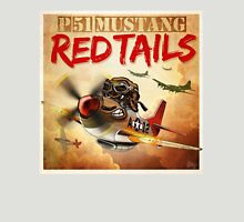 "WINGS Series ""P-51 RED TAILS"" Unisex T-Shirt"