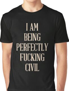 Perfectly Civil Graphic T-Shirt