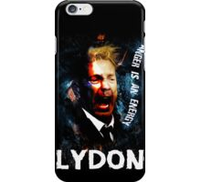 John Lydon Sex Pistols PiL T-Shirt iPhone Case/Skin
