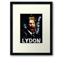 John Lydon Sex Pistols PiL T-Shirt Framed Print