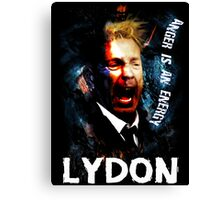 John Lydon Sex Pistols PiL T-Shirt Canvas Print