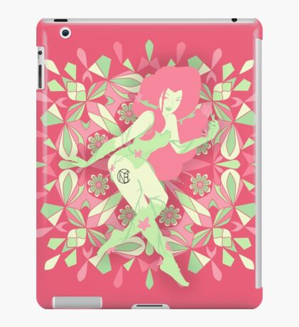 """Poison Ivy """"Blooming"""" iPad Case/Skin"""