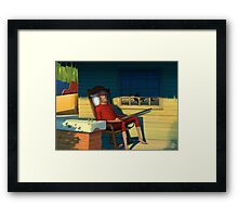 Good Evening Framed Print