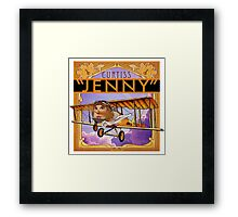 "WINGS Series ""JENNY"" Framed Print"