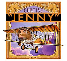 "WINGS Series ""JENNY"" Photographic Print"