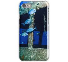 Fish and the wheelhouse iPhone Case/Skin